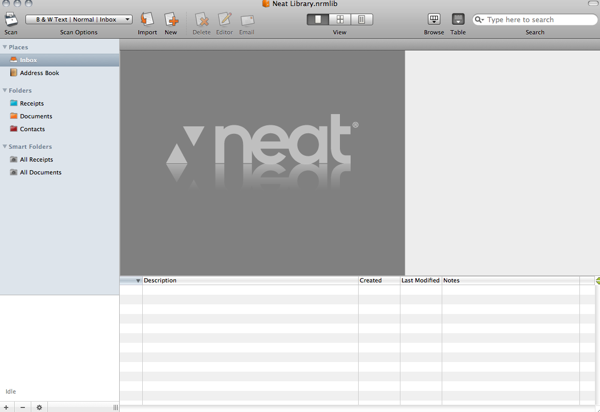 GearDiary Review: NeatDesk for Mac Scanner/Software Combination
