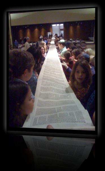 Torah unrolled